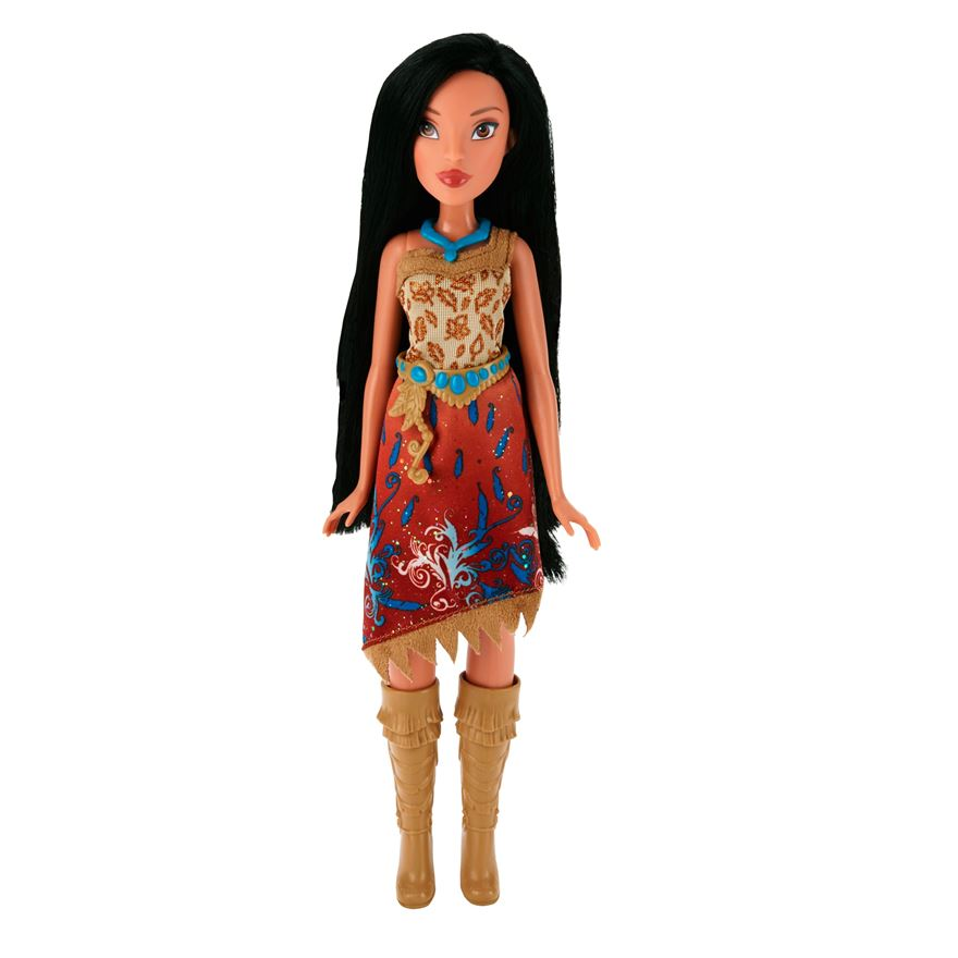 Disney Princess Royal Shimmer Pocahontas Doll image-0