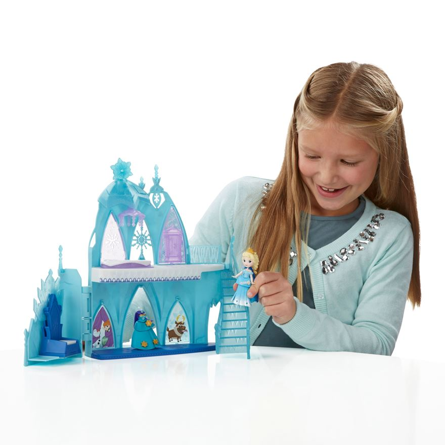 Disney Frozen Little Kingdom Elsa's Frozen Castle Play Set image-0