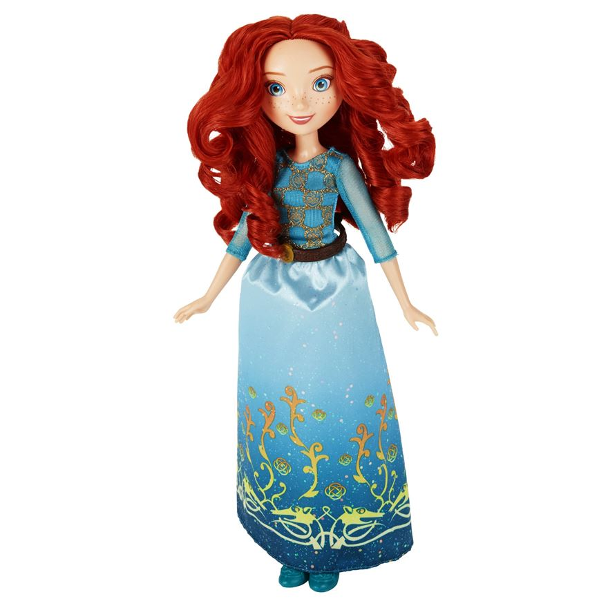 Disney Princess Royal Shimmer Merida Doll image-0