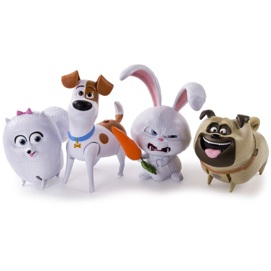 The Secret Life of Pets  Walking Talking Pet Figure - Assortment image-0