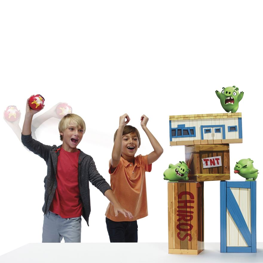 Angry Birds Vinyl Knockout Playset image-0