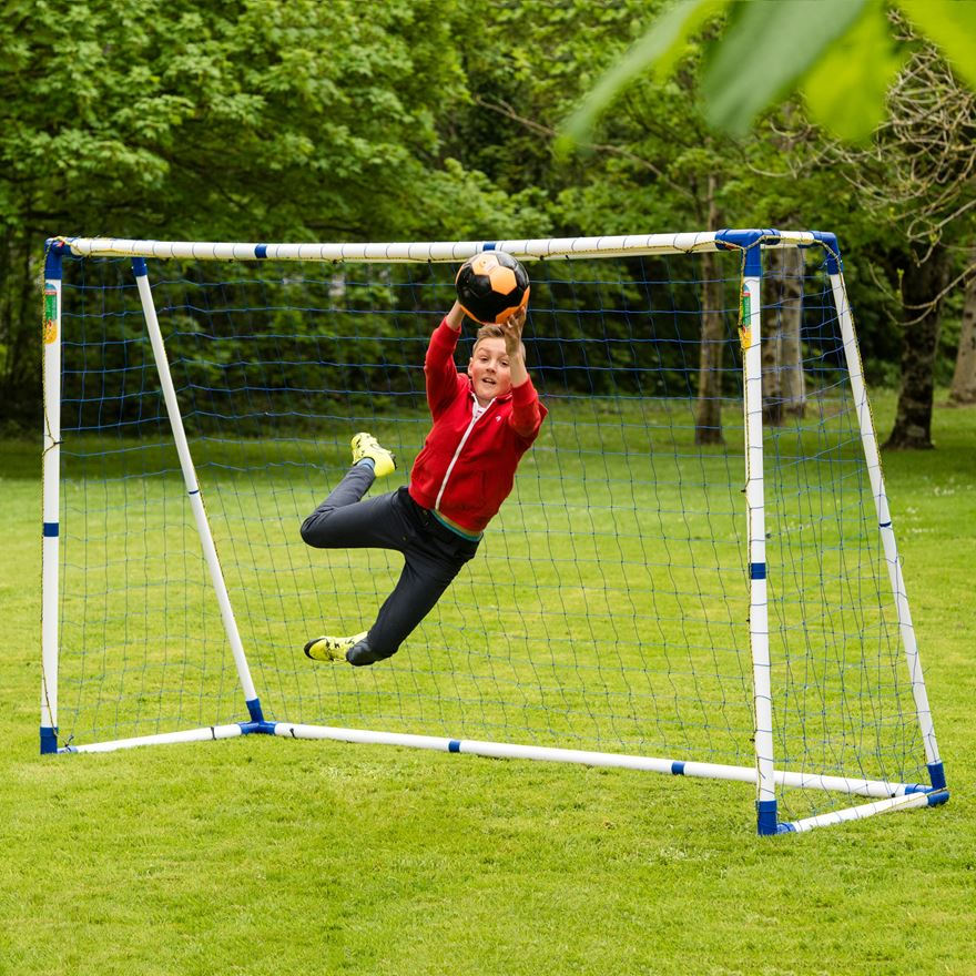 10 x 6ft Pro Football Goal image-0