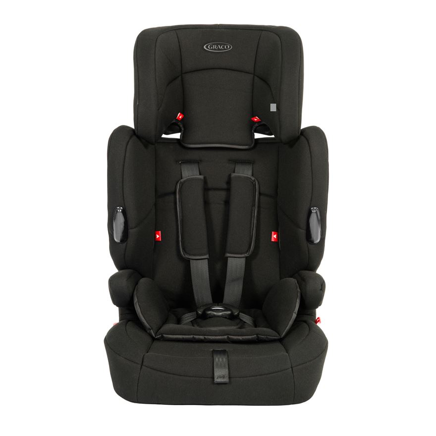 Graco Endure Group 1-2-3 Car Seat Black image-0