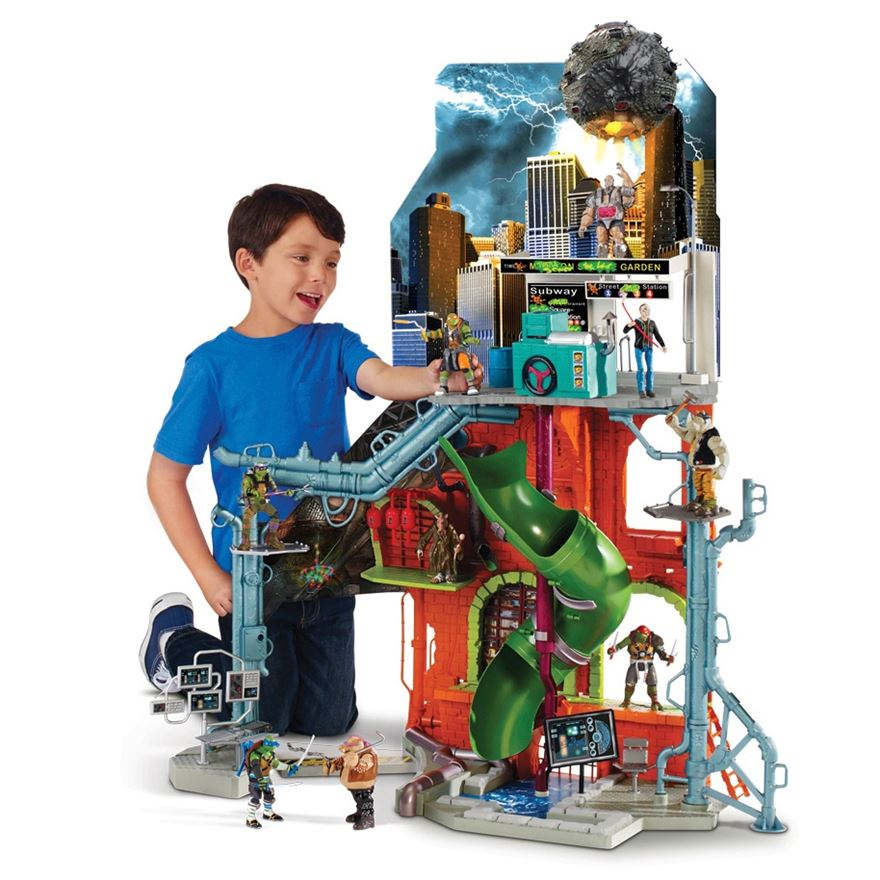Teenage Mutant Ninja Turtles 2 City Sewer Lair Playset image-0
