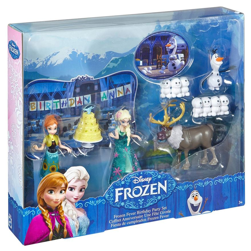 Disney Frozen Fever Birthday Party Set image-0