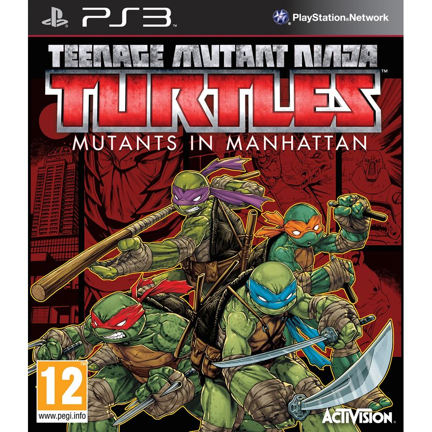 Teenage Mutant Ninja Turtles Mutants in Manhattan PS3