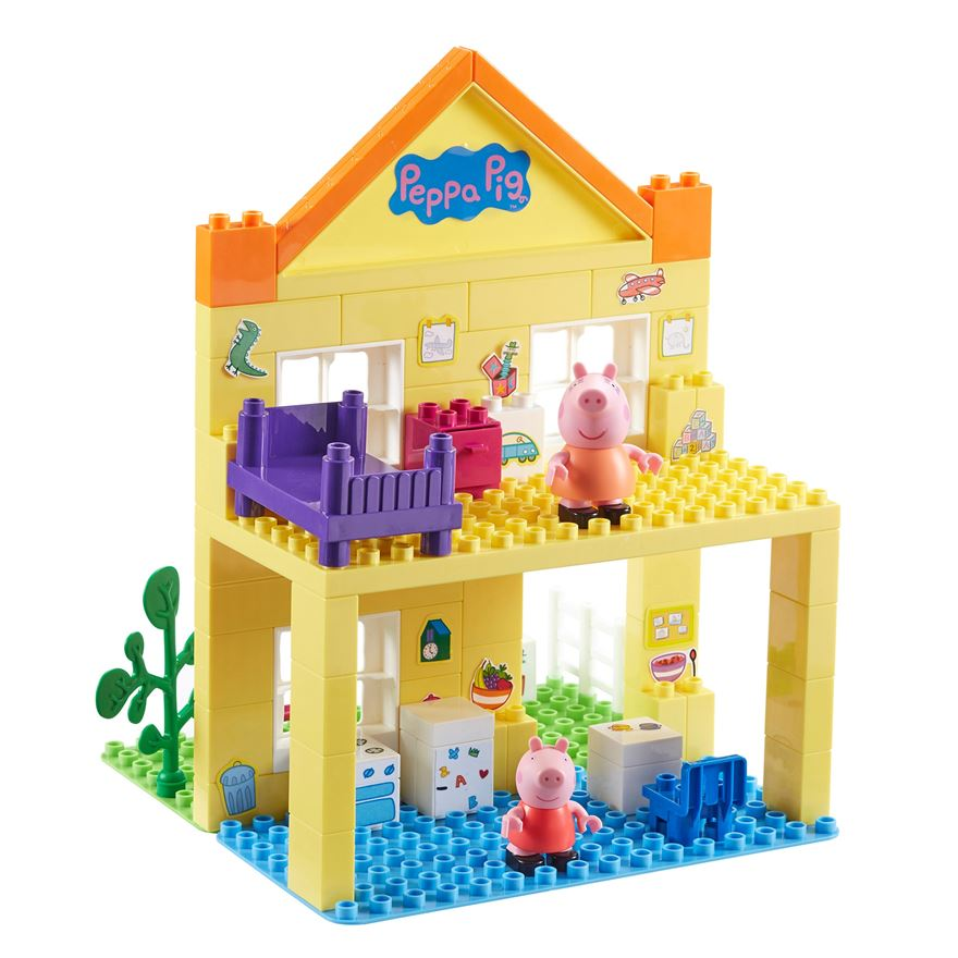 Peppa Pig Deluxe House Construction Set image-0