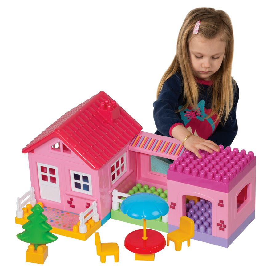 Build Your House Building Blocks Play Set image-0