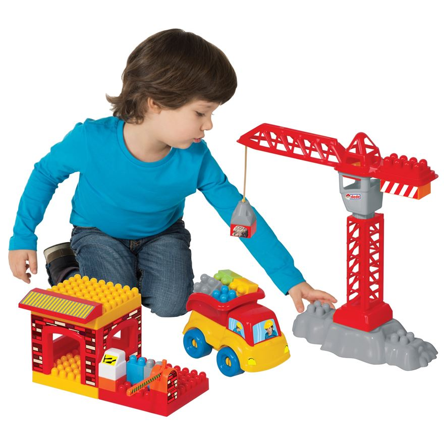My First Construction Building Blocks Playset image-0