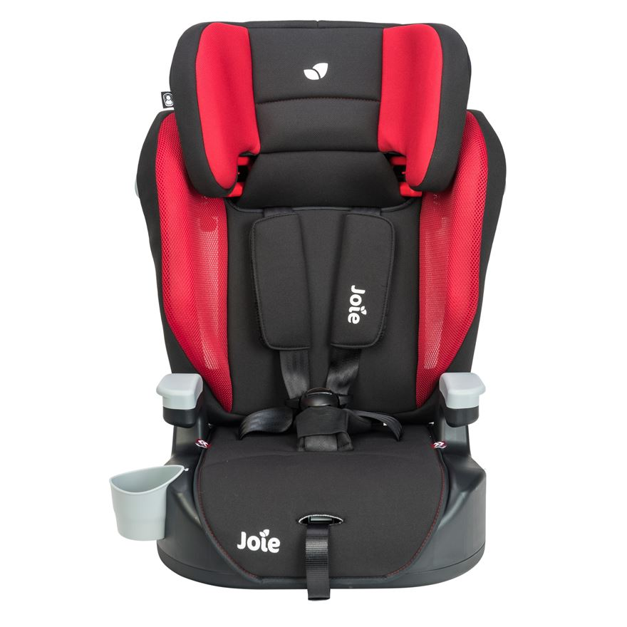 Joie Elevate 1-2-3 Car Seat- Cherry image-0
