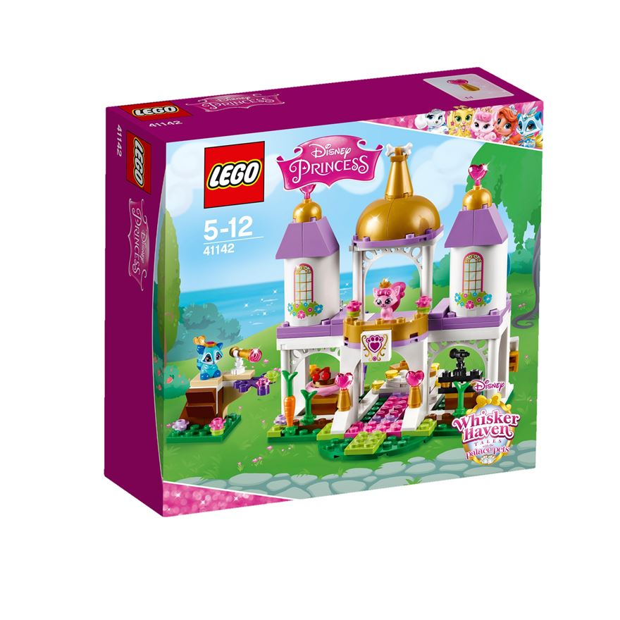 LEGO Disney Princess Whisker Haven Palace Pets Royal Castle 41142 image-0