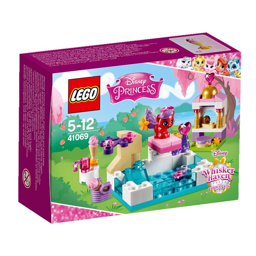 LEGO Disney Princess Haven Whiskers Treasure's Day at the Pool 41069 image-0