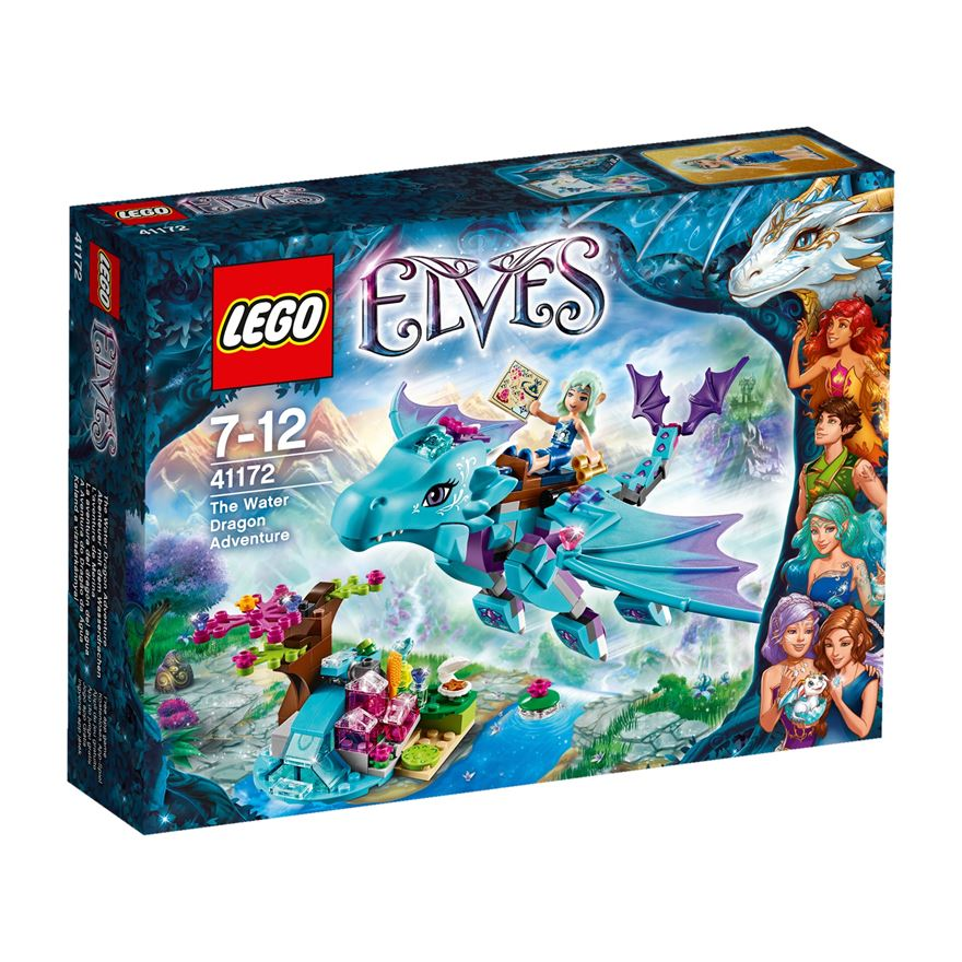 LEGO Elves The Water Dragon Adventure 41172 image-0