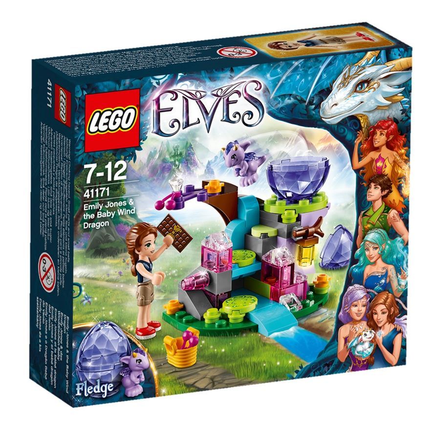 LEGO Elves Emily Jones & the Baby Wind Dragon 41171 image-0