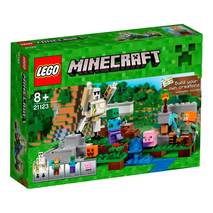 LEGO Minecraft The Iron Golem 21123 image-0