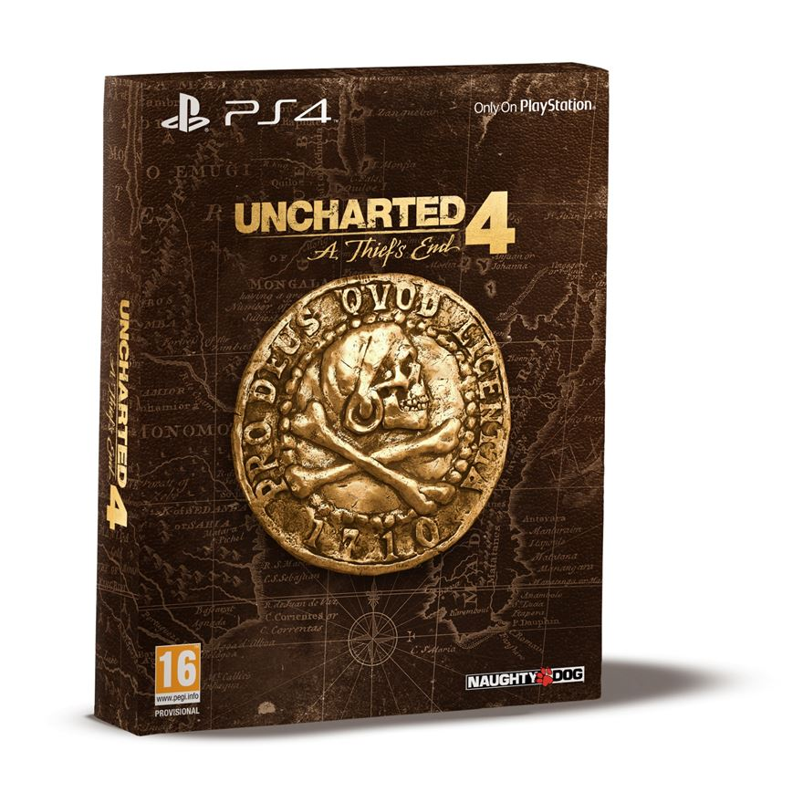 Uncharted 4: A Thief's End Special Edition PS4 image-0