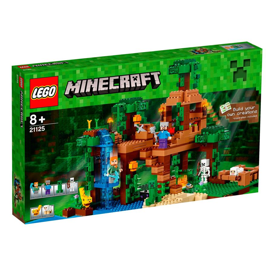 LEGO Minecraft The Jungle Tree House 21125 image-0