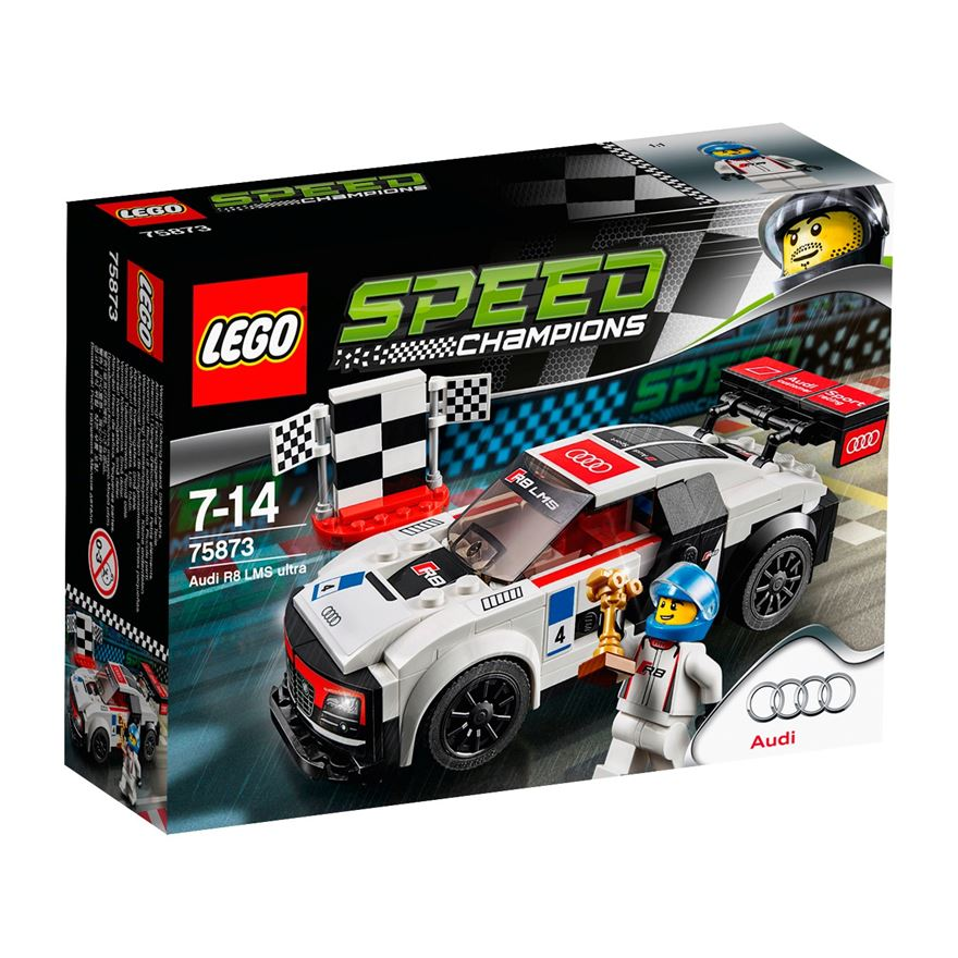 LEGO Speed Champions Audi R8 LMS ultra 75873 image-0