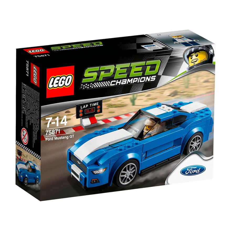 LEGO Speed Champions Ford Mustang GT 75871 image-0