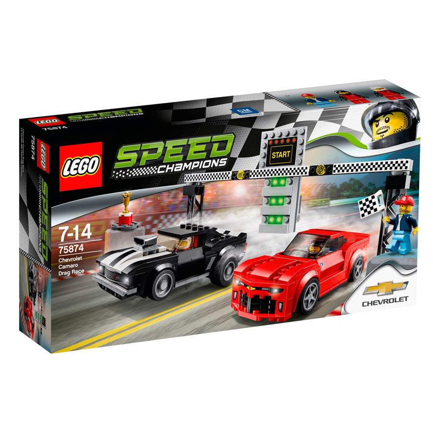 LEGO Speed Champions Chevrolet Camaro Drag Race 75874 image-0