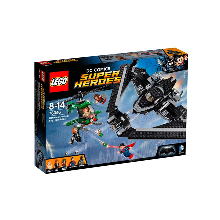 LEGO DC Comics Super Heroes of Justice: Sky High Battle 76046 image-0