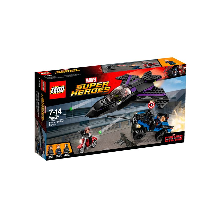 LEGO Marvel Super Heroes Black Panther Pursuit 76047 image-0