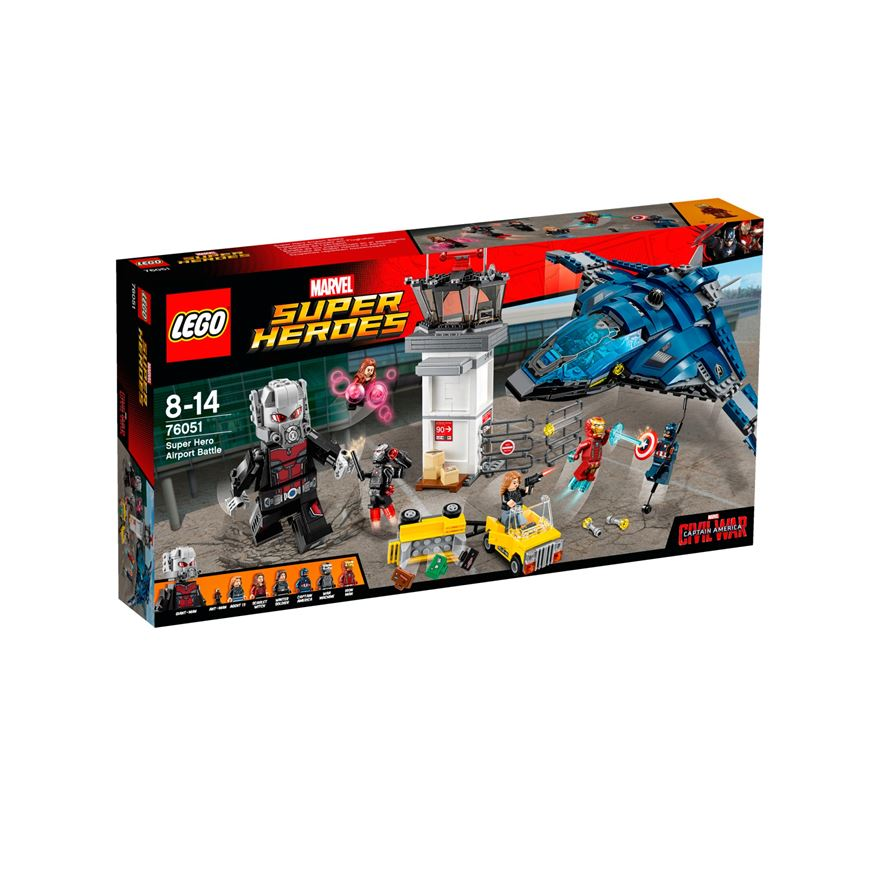 LEGO Marvel Super Heroes Super Hero Airport Battle 76051 image-0