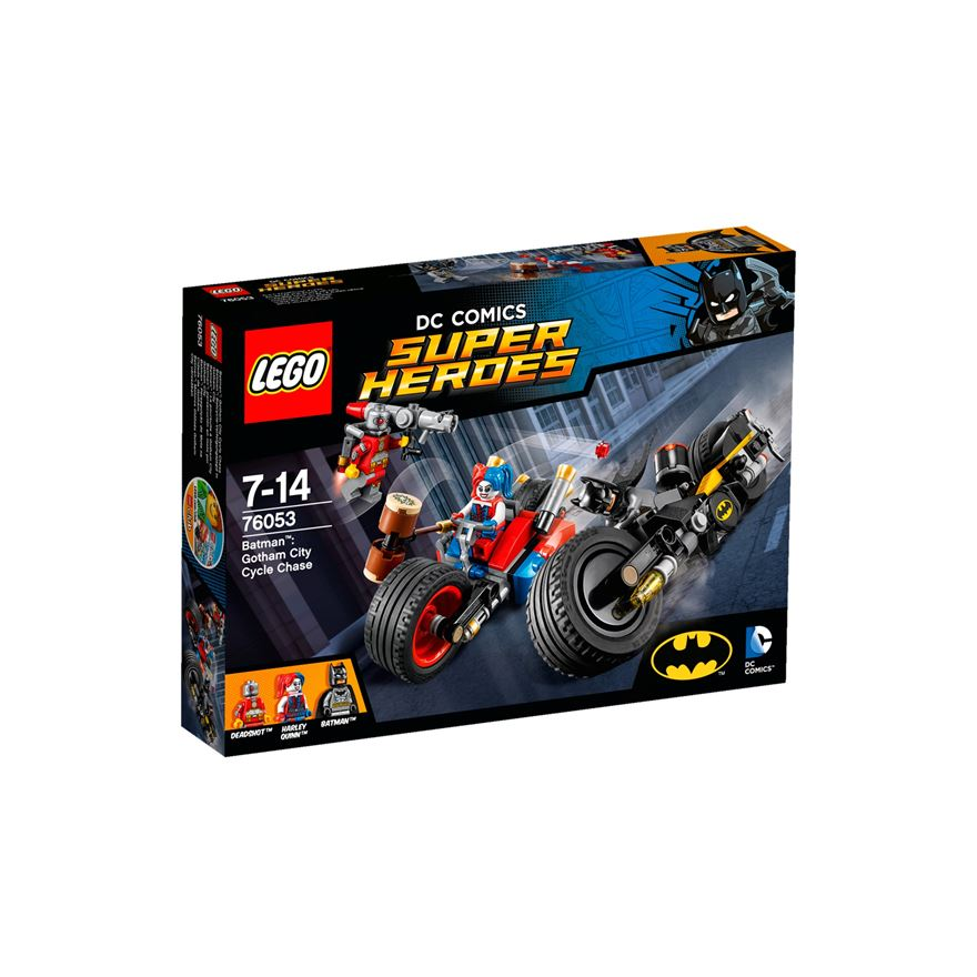 LEGO DC Comics Super Heroes Batman: Gotham City Cycle Chase 76053 image-0