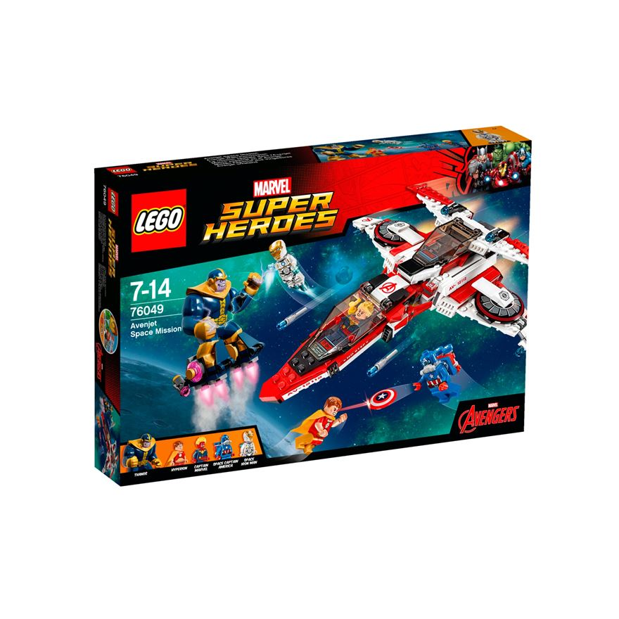 LEGO Marvel Super Heroes Avenjet Space Mission 76049 image-0