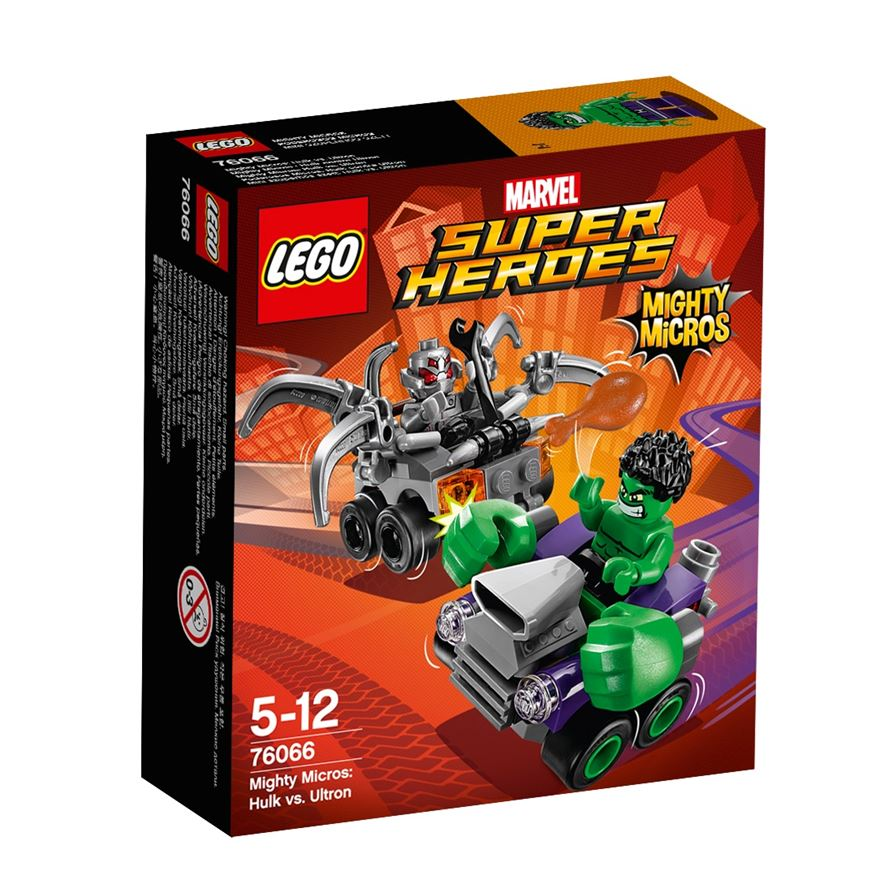 LEGO Marvel Super Heroes Mighty Micros: Hulk vs. Ultron 76066 image-0