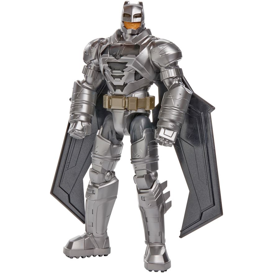 Batman v Superman: Dawn of Justice Electro-Armor Batman Figure image-0