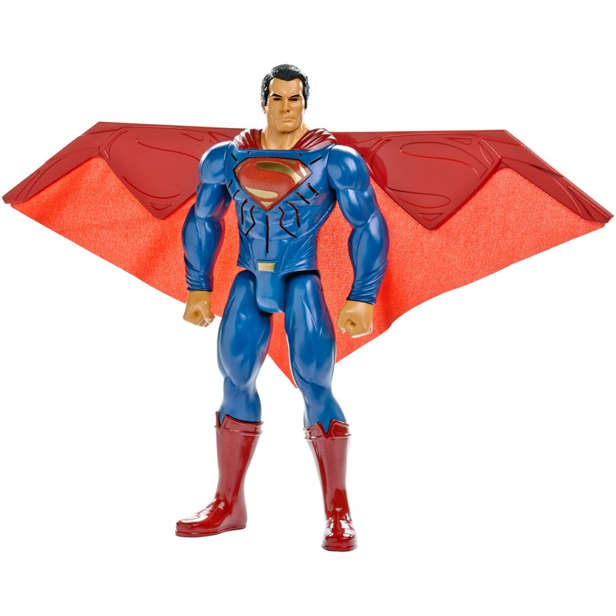 Batman v Superman: Dawn of Justice Heat Vision Superman Figure image-0