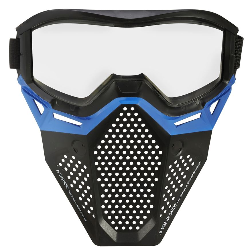 Nerf Rival Face Mask - Blue image-0