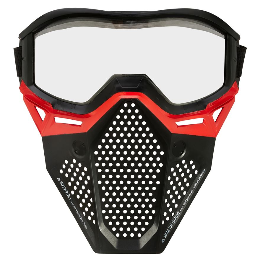 Nerf Rival Face Mask - Red image-0