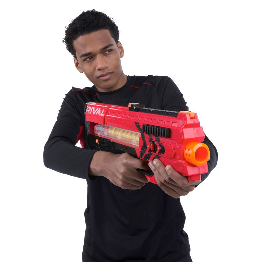 NERF Rival Zeus MXV-1200 Blaster Red image-0