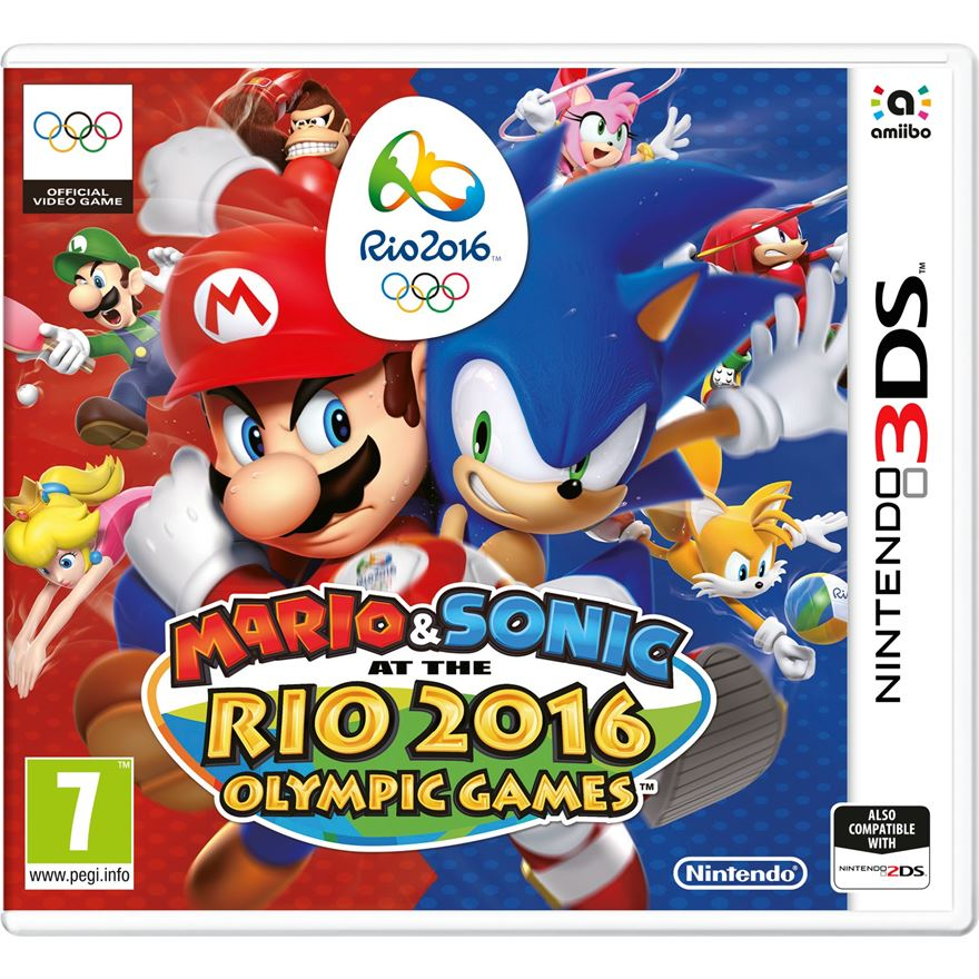 Mario & Sonic at the Rio 2016 Olympic Games 3DS image-0