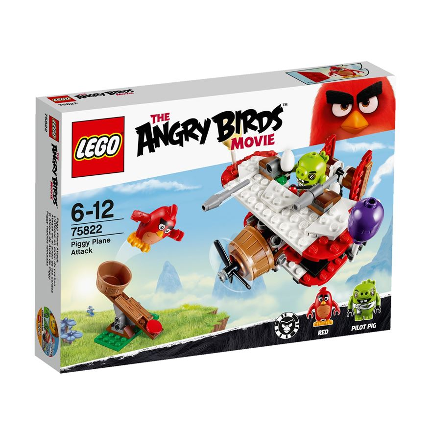 LEGO The Angry Birds Movie Piggy Plane Attack 75822 image-0