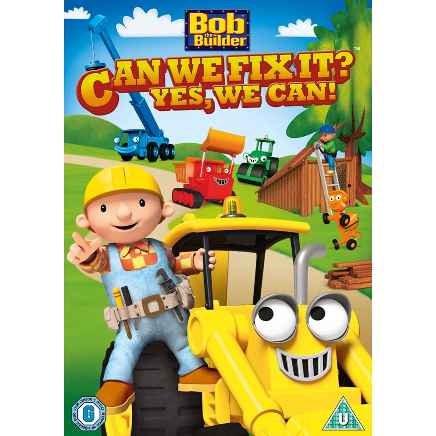 BobThe Builder Can We Fix It? Yes, We Can! DVD