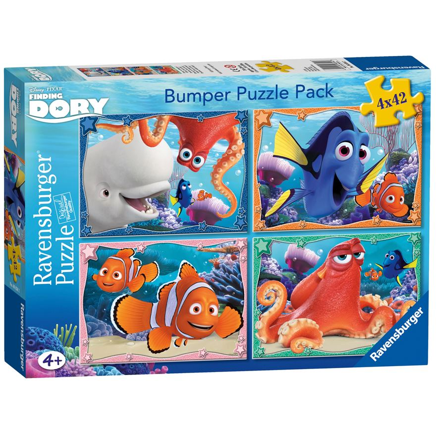Disney Finding Dory Bumper Puzzle Pack image-0