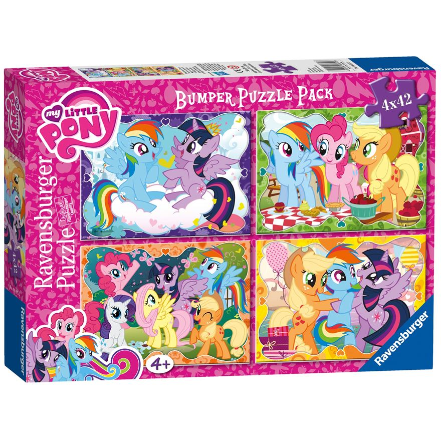 My Little Pony Bumper Puzzle Pack image-0