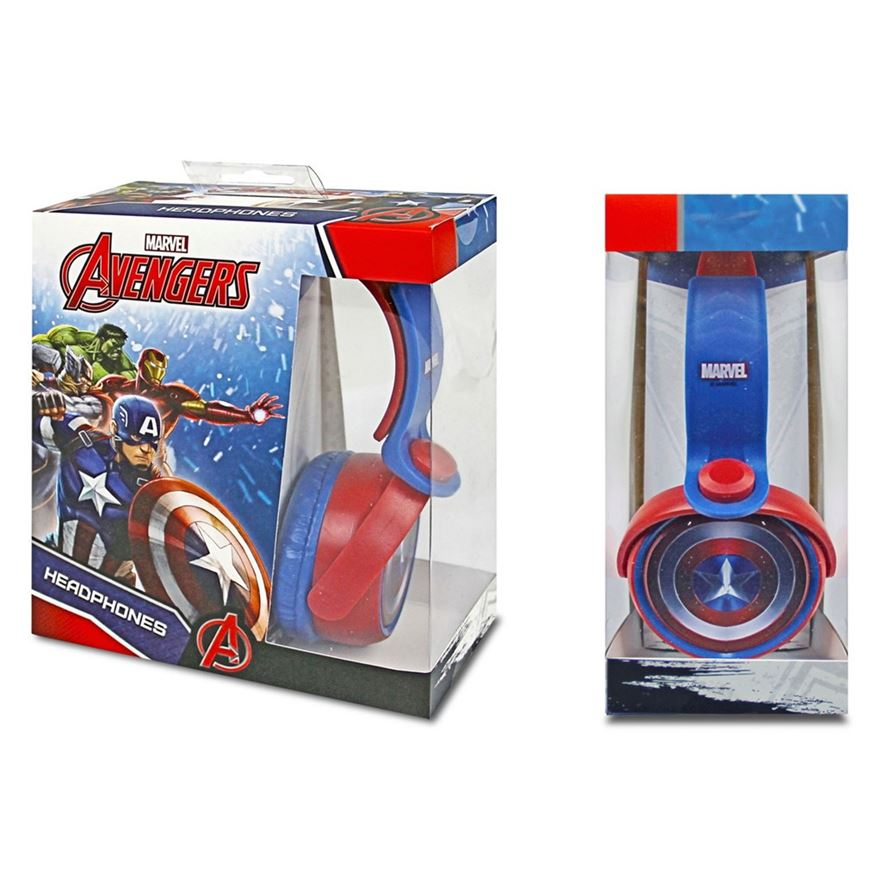 Captain America Shield Headphones