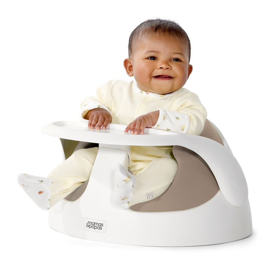 Mamas and Papas Baby Snug and Tray Putty image-0