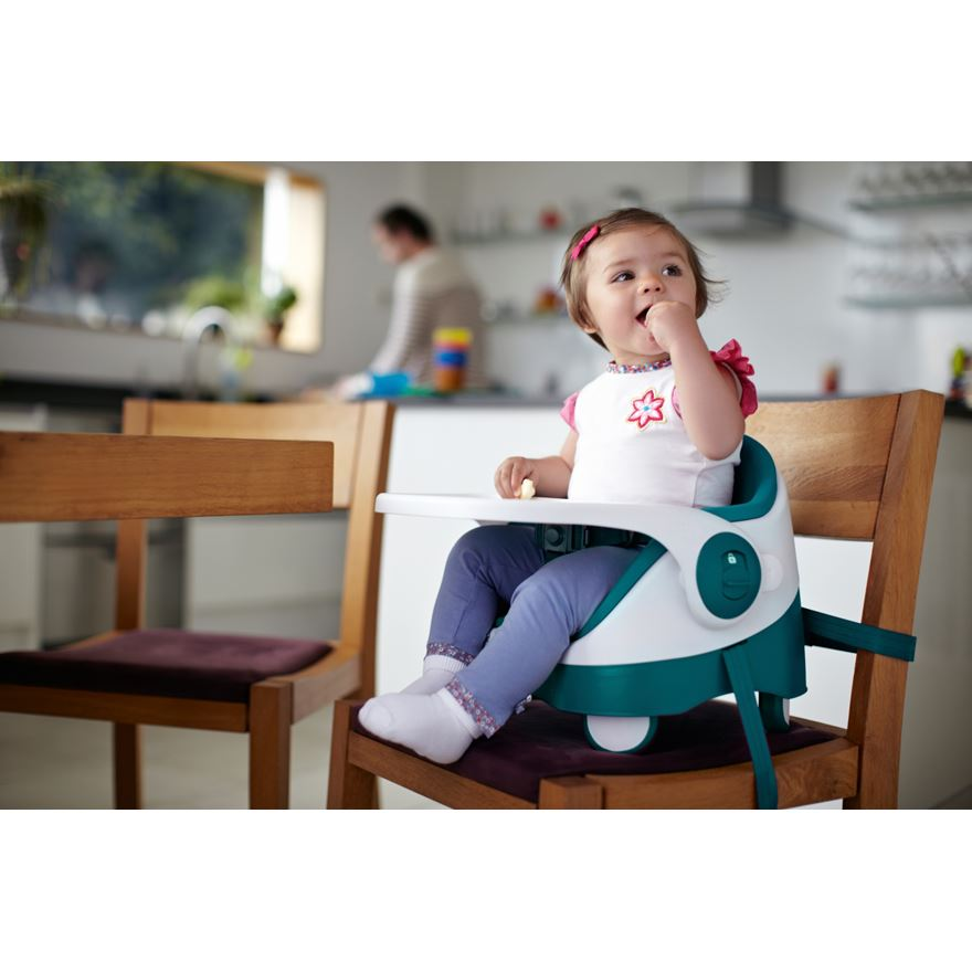 Mamas and Papas Baby Bud Booster Seat Teal image-0