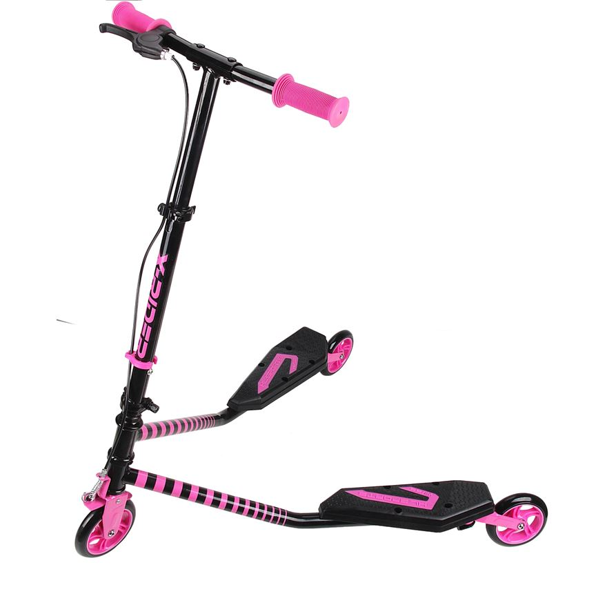 X-Rider Scissor Scooter Pink image-0