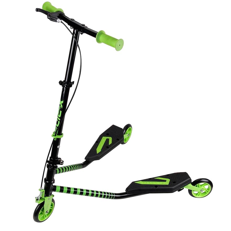 X-Rider Scissor Scooter Green image-0