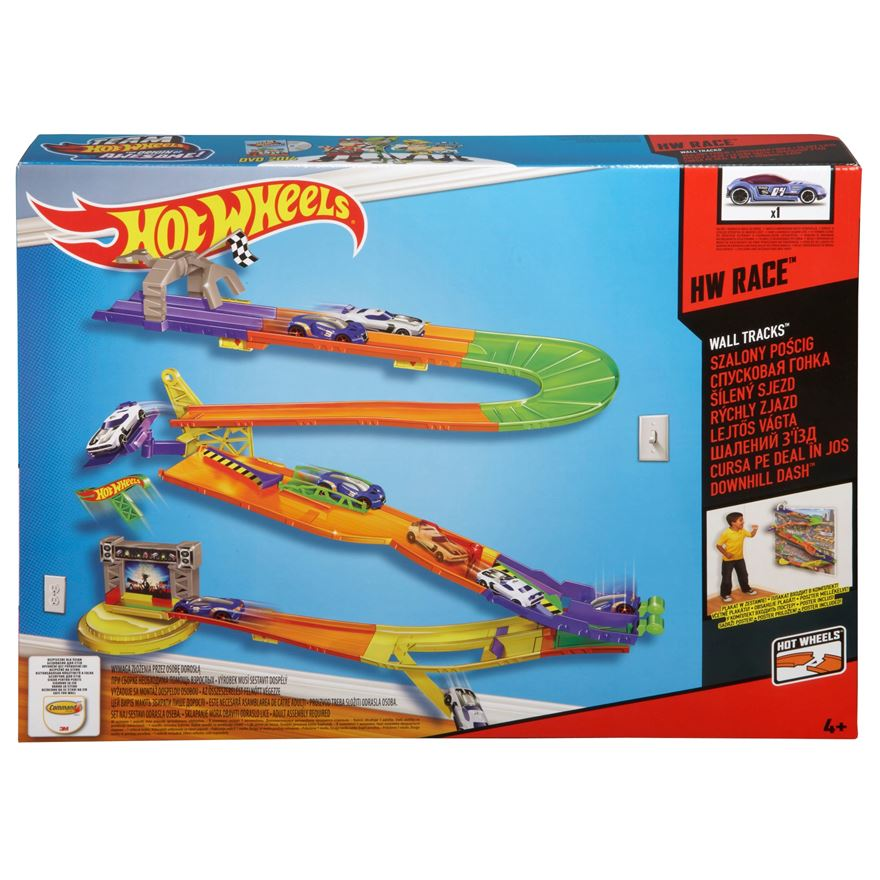 Hot Wheels Wall Tracks Downhill Dash Track image-0