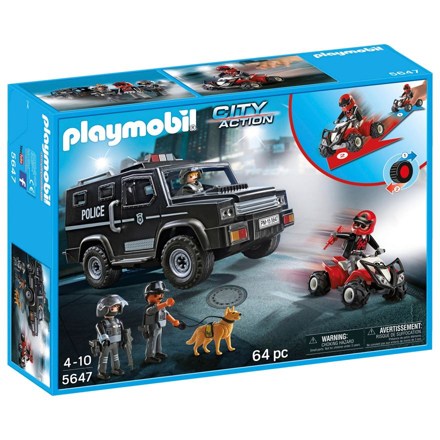 Playmobil Tactical Police Club Set image-0