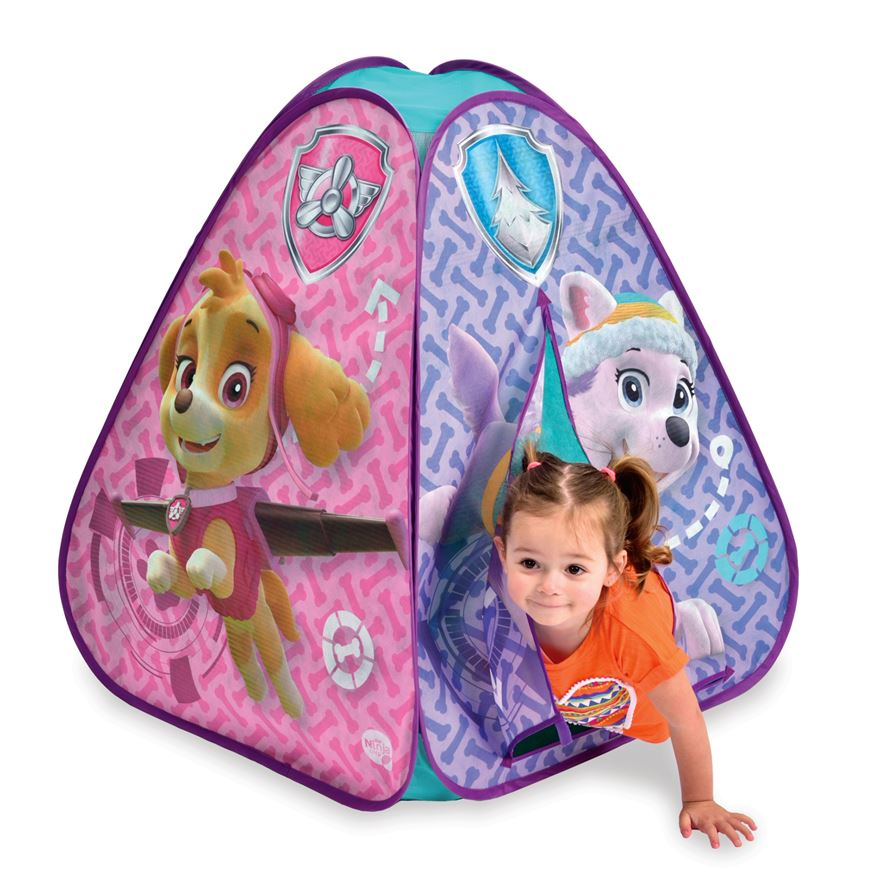 Paw Patrol Skye and Everest Pop-Up Adventure Tent image-0