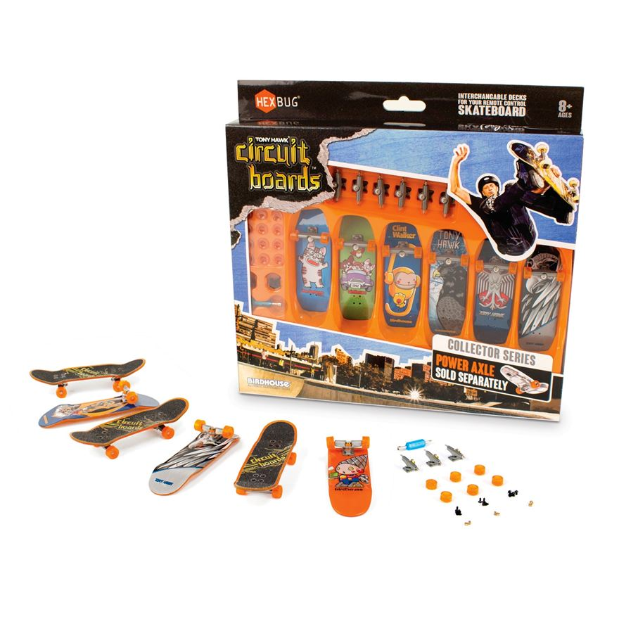 HEXBUG Tony Hawk Circuit Board 6 Pack image-0