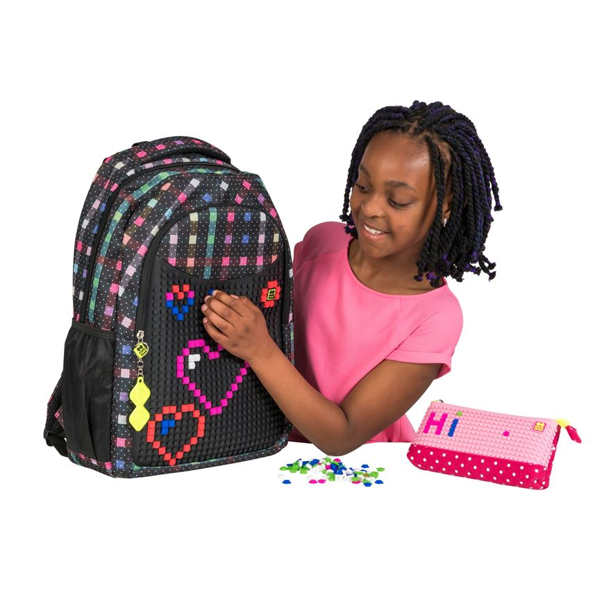 PIXIE CREW Multi-Coloured Backpack and Pencil Case image-0